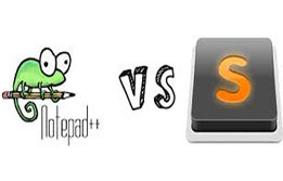 Notepad++ vs. Sublime Text