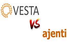 What are the differences between Vestacp vs Ajenti?